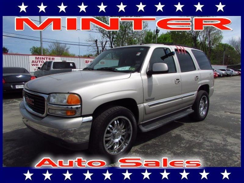 2004 GMC YUKON 1500 SLE silver birch metallic air conditioning tri-zone manual individual clim