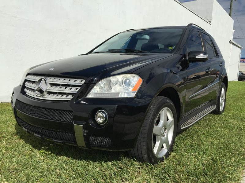 2008 mercedes benz m class ml550 awd 4matic 4dr suv in. Black Bedroom Furniture Sets. Home Design Ideas