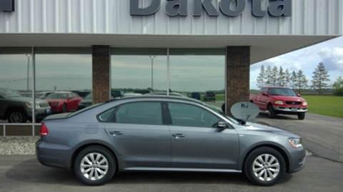 2015 Volkswagen Passat for sale in Wahpeton, ND
