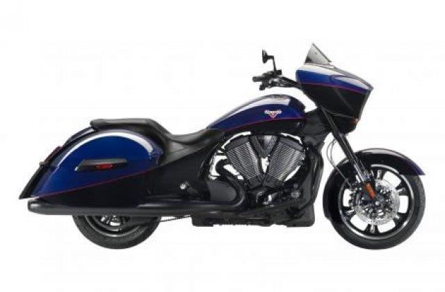2014 Victory Cross Country Boss Blue & Gloss Black