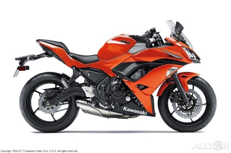 2017 Kawasaki Ninja 650R