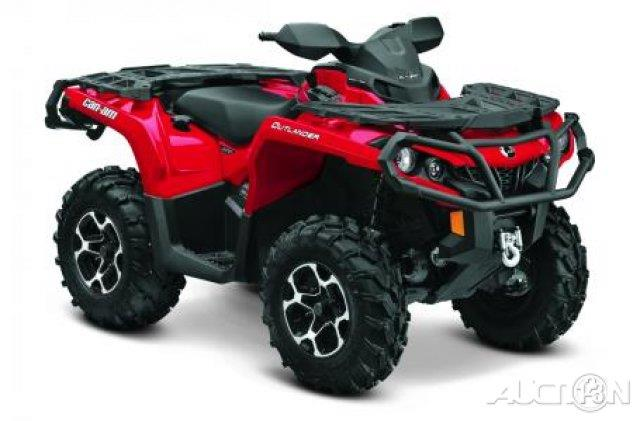 2014 Can-Am Outlander 800R XT