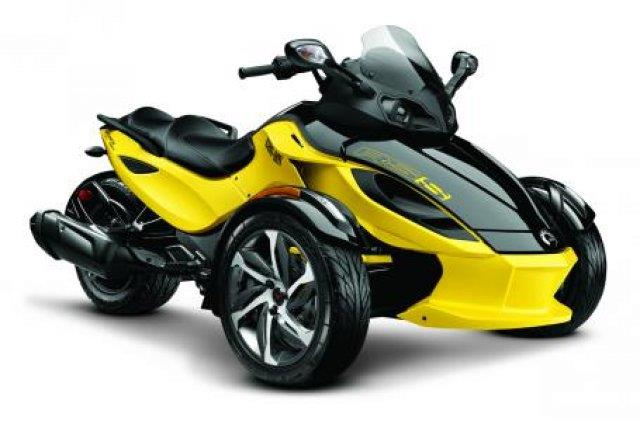 2014 Can-AM® Spyder RSS SE5