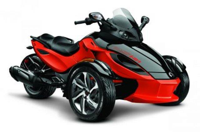 2014 Can-AM® Spyder RSS SM5