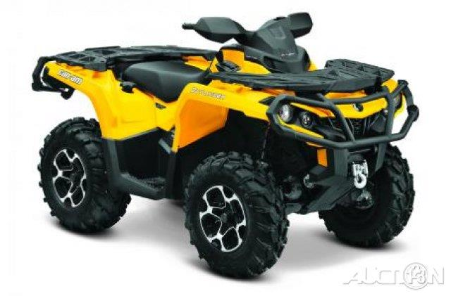 2014 Can-AM® Outlander 650 XT