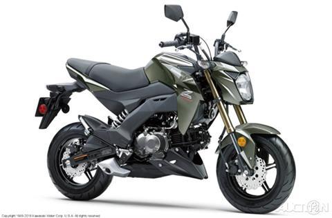 2018 Kawasaki Z 125 PRO for sale in North Chelmsford, MA