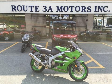 2001 Kawasaki ZX 600R for sale in North Chelmsford, MA