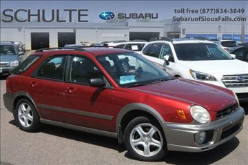 2003 Subaru Impreza for sale in Sioux Falls, SD
