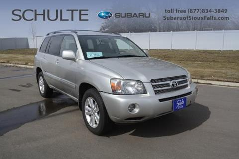 2006 Toyota Highlander Hybrid for sale in Sioux Falls, SD