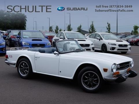 1974 Triumph TR6 for sale in Sioux Falls, SD