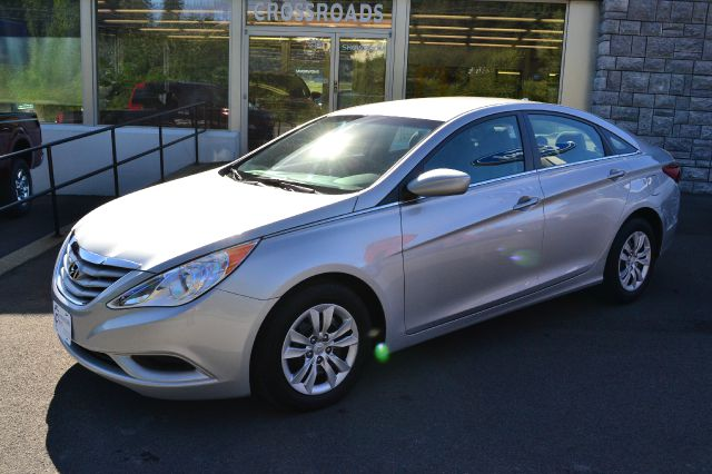 2012 HYUNDAI SONATA GLS AUTO silver like-new 2012 hyundai sonata gls power windows locks a