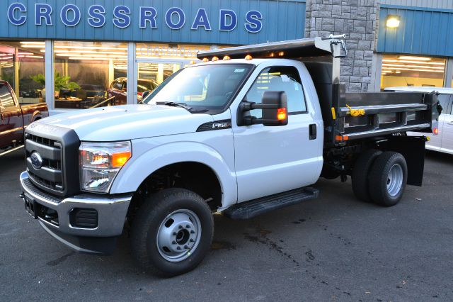 2014 FORD F350 XL DRW 4WD DUMP BODY oxford white new 2014 ford f-350 xl regular cab dump body