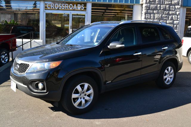 2011 KIA SORENTO LX AWD black 2011 kia sorento lx awd heated seats power windows locks and