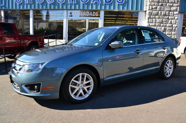 2012 FORD FUSION SEL blue loaded 2012 ford fusion sel  power moonroof powerheated seats pow
