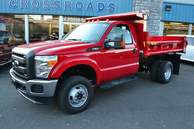 2014 FORD F350 XL DRW 4WD DUMP BODY vermillion red new 2014 ford f-350 xl 4x4 regular cab dump b