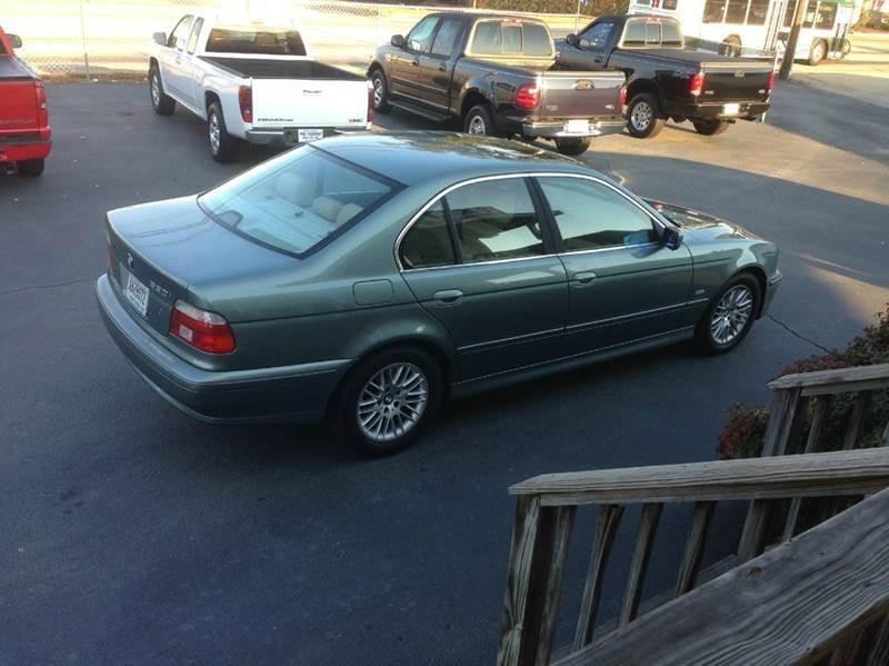 2002 BMW 5 Series 530i 4dr Sedan - Greenville SC
