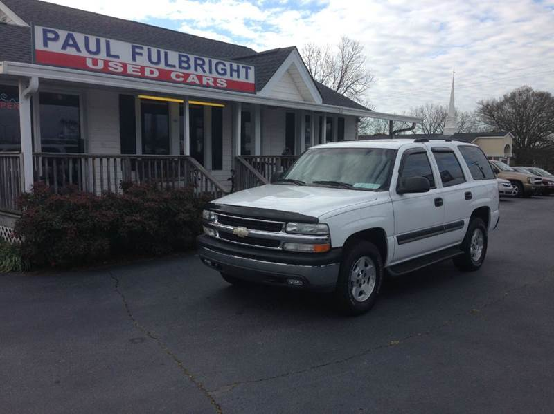 2004 Chevrolet Tahoe LS 4WD 4dr SUV - Greenville SC