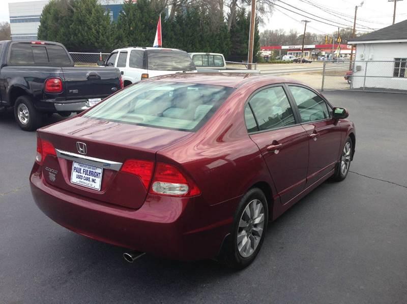 2010 Honda Civic EX 4dr Sedan 5A w/Navi - Greenville SC