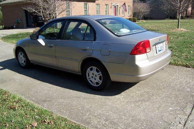2002 Honda Civic LX 4dr Sedan w/Side Airbags - Nicholasville KY