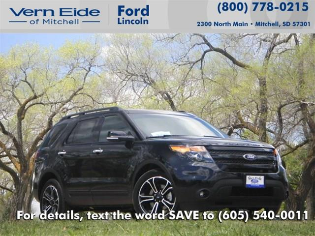 New 2014 Ford Explorer Sport 4x4 4dr SUV in Mitchell SD at