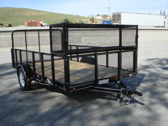 Used 2014 load trail 12ft lawn care trailer for sal for sale for Garden maintenance trailer