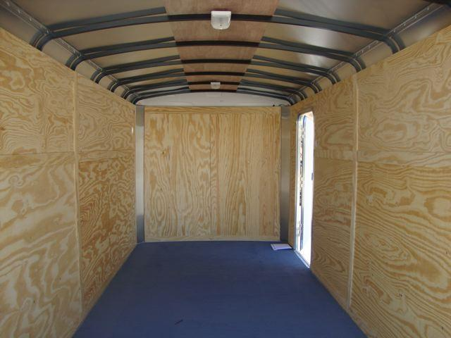 2014 LOOK TRAILERS  7X14 TANDEM AXLE ENCLOSED TRAILER  - REDLANDS CA