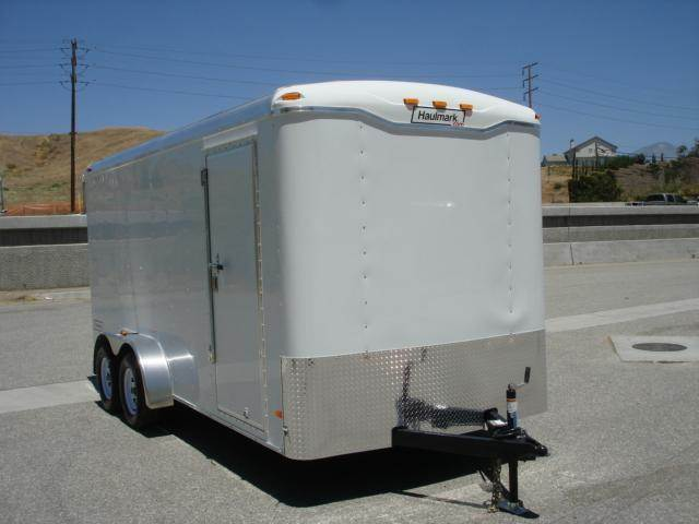 2014 HAULMARK TRAILER New 7x16 Covered Trailer For Sale  - REDLANDS CA