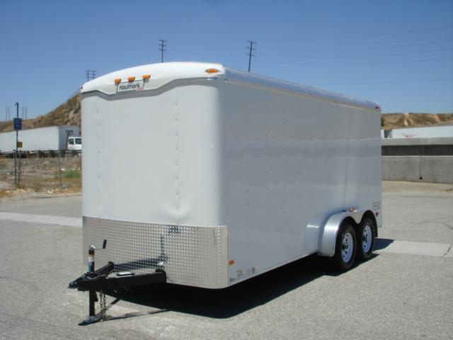 2015 Haulmark Transport TST7X16DT2 TANDEM AXLE ENLCOSED TRAILER   - REDLANDS CA