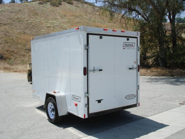 2014 HAULMARK TRAILERS 6X10 WEDGE NOSE TRAILER FOR SALE  - REDLANDS CA