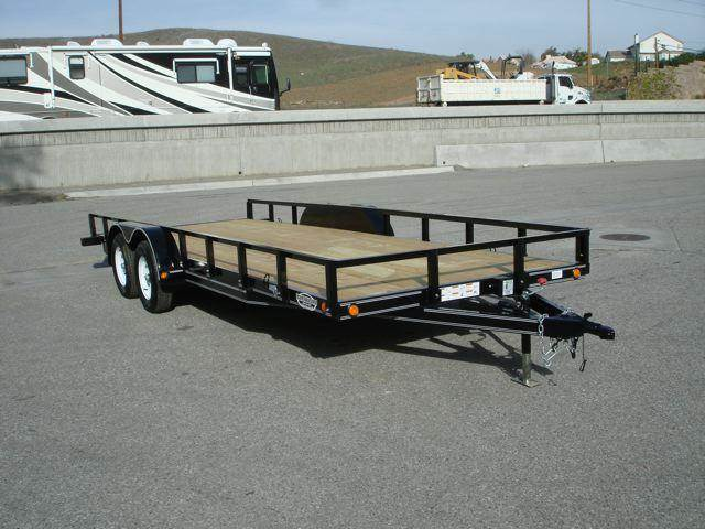 2016 LOAD TRAIL TRAILER Utility 83x20ft Trailer For Sa  - Redlands CA