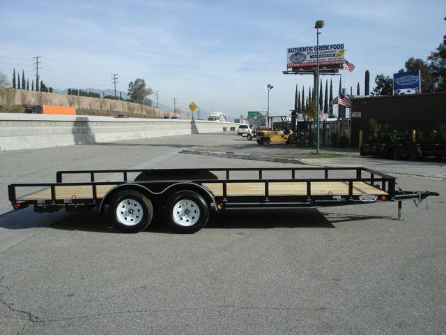 2013 LOAD TRAIL TRAILER Utility Trailer For Sale 83x20ft  - REDLANDS CA