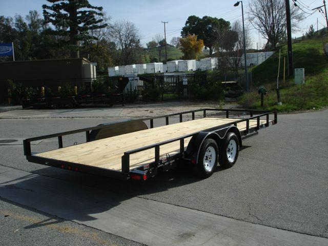 2014 LOAD TRAIL TRAILER Utility 83x20ft Trailer For Sa  - Redlands CA