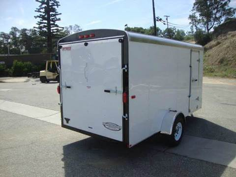 2017 TNT TRAILER TOTE TOT6X12SA SINGLE AXLE WIT for sale in Redlands, CA