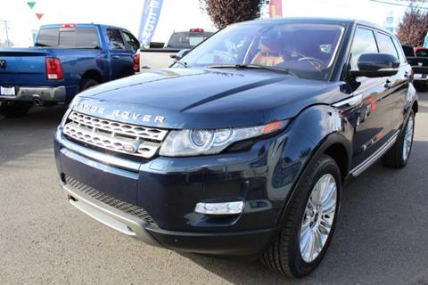 2013 Land Rover Range Rover Evoque for sale in Auburn, WA