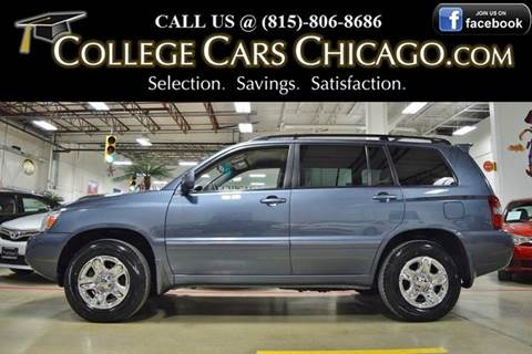 2007 Toyota Highlander for sale in Mokena, IL
