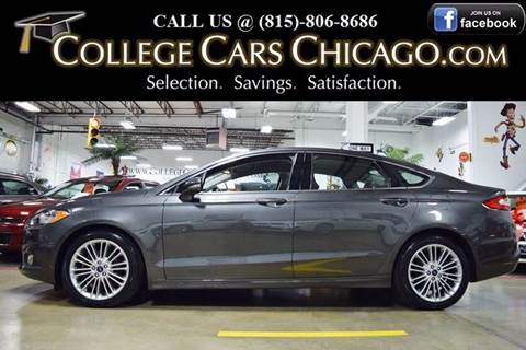 2015 Ford Fusion for sale in Mokena, IL