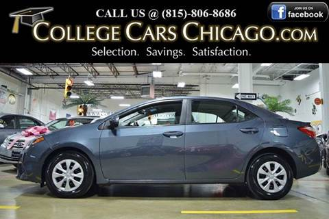 2014 Toyota Corolla for sale in Mokena, IL