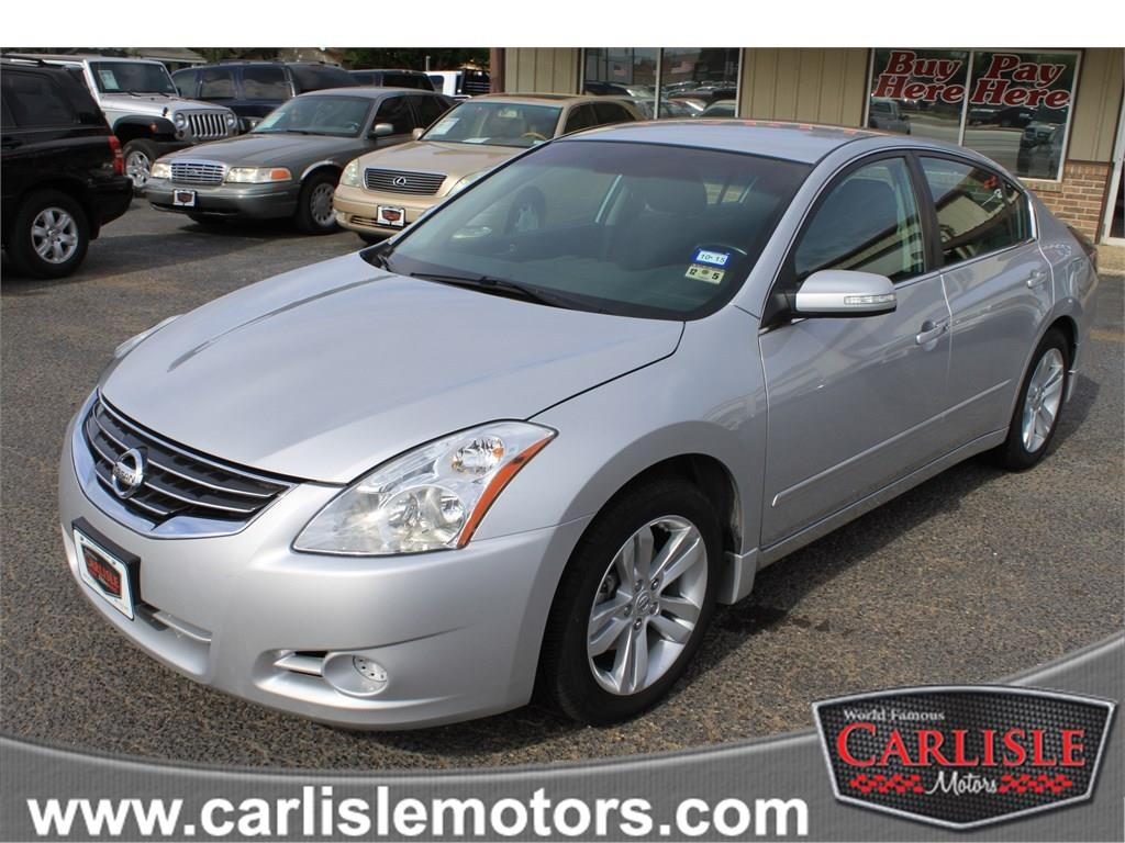 2011 nissan altima 3 5 sr 4dr sedan in lubbock new deal new home carlisle motors. Black Bedroom Furniture Sets. Home Design Ideas