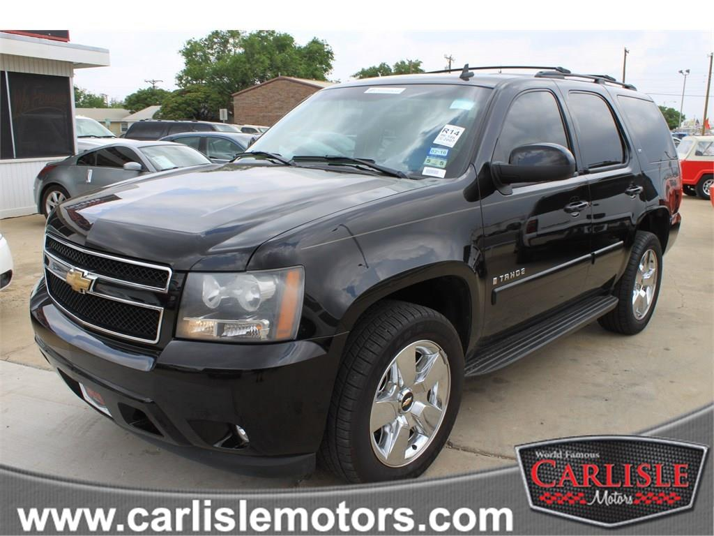 2007 chevrolet tahoe suv in lubbock new deal new home