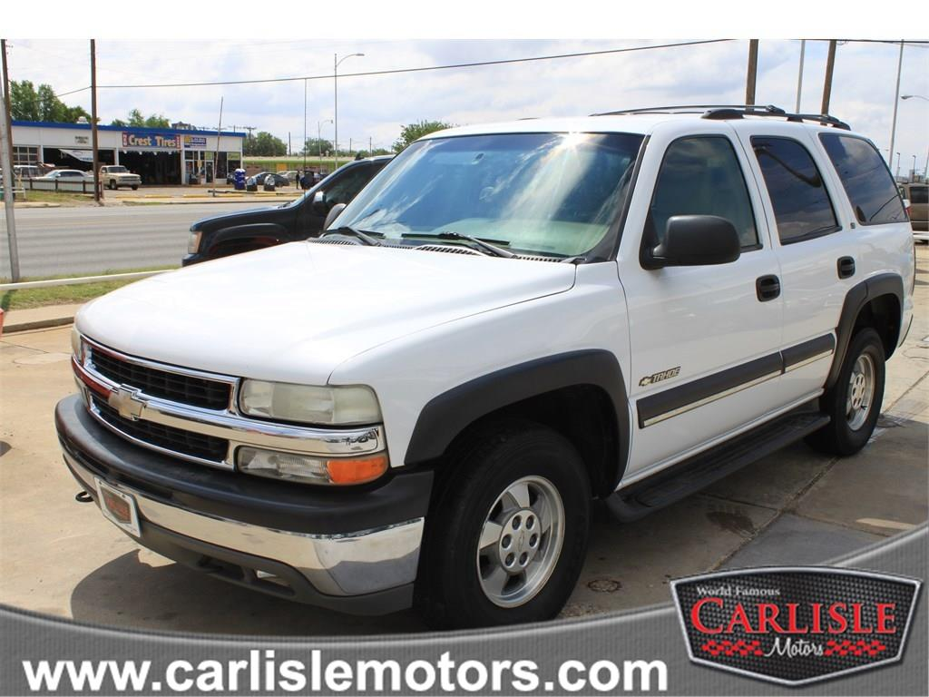2002 chevrolet tahoe suv in lubbock new deal new home