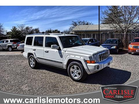 2010 Jeep Commander for sale in Lubbock, TX