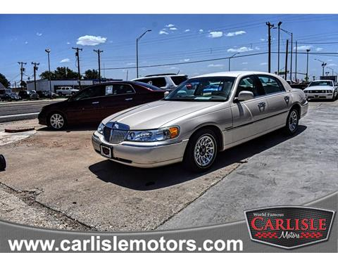 1998 Lincoln Town Car For Sale In Appleton Wi Carsforsale Com