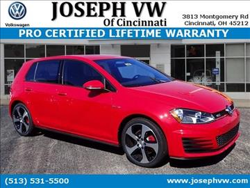 2017 Volkswagen Golf GTI for sale in Cincinnati, OH