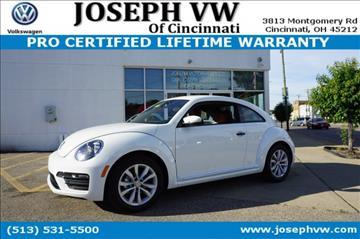 2017 Volkswagen Beetle for sale in Cincinnati, OH