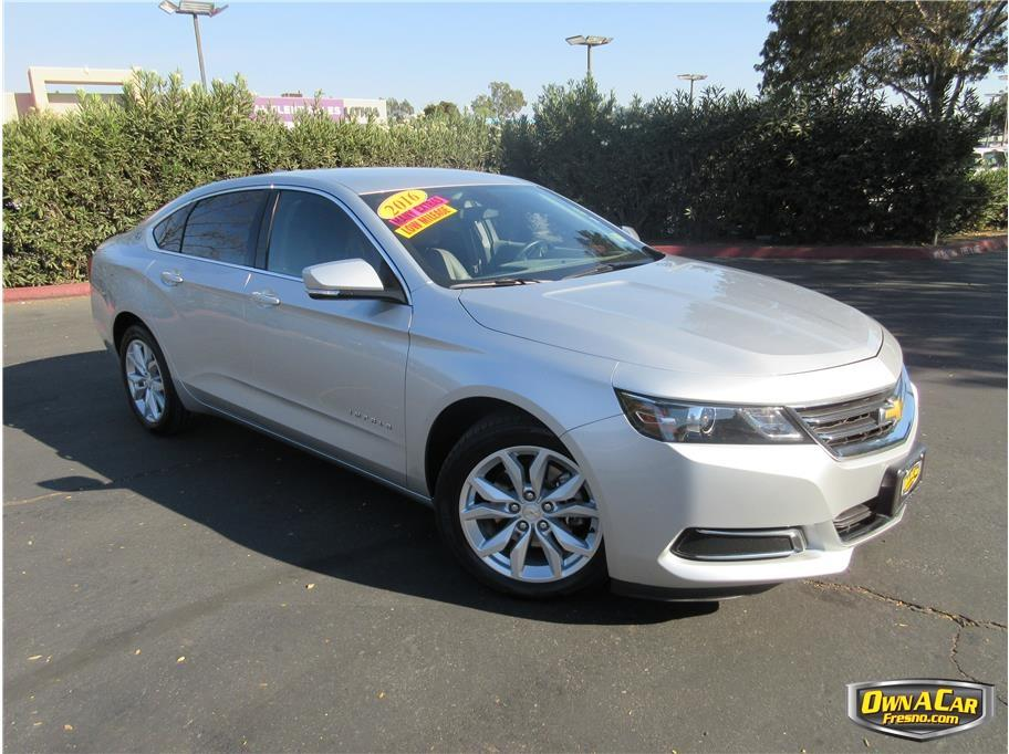 2016 chevrolet impala lt 4dr sedan w 2lt in fresno ca. Black Bedroom Furniture Sets. Home Design Ideas