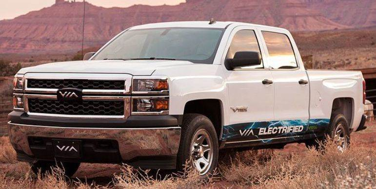 2015 Chevrolet Silverado 1500 Hybrid VIA MOTORS PLUG IN GAS?ELECTRIC - Chicago IL