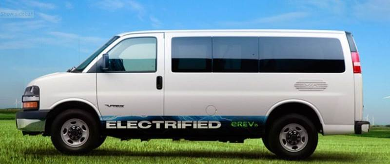 2015 Chevrolet Chevy Van VIA MOTORS- PLUG IN GAS & ELECTRIC - Chicago IL