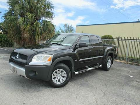 2006 Mitsubishi Raider for sale in Miami, FL