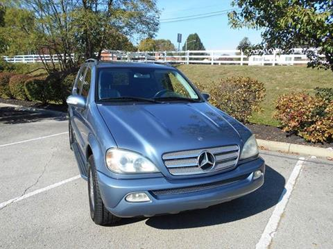 Used mercedes benz m class for sale in louisville ky for 2005 mercedes benz ml350 for sale