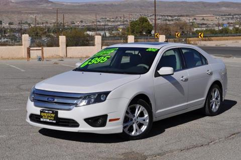 2012 Ford Fusion for sale in Barstow, CA